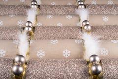 Traditionelle Weihnachtscracker Stockbilder