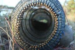 Traditionelle Werkzeuge für das Fangen der Garnele in Indonesien stockbilder