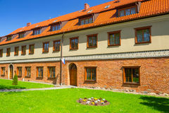 Traditionelle Ziegelsteinarchitektur Lizenzfreie Stockfotos