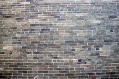 Traditionelle Ziegelsteinwand Stockfotografie