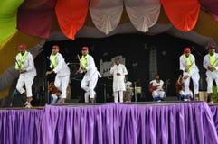 Traditioneller äthiopischer Tanz Stockfotografie