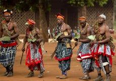 Traditioneller afrikanischer Tanz Lizenzfreies Stockfoto