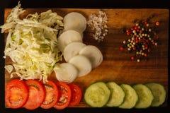 Traditioneller amerikanischer Salat stockbilder
