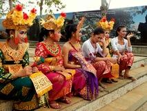 Traditioneller Balinesetänzer Lizenzfreies Stockbild
