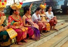 Traditioneller Balinesetänzer Stockfotos