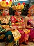 Traditioneller Balinesetänzer Stockfoto