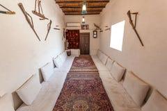 Traditioneller beduinischer Raum Stockbilder