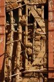 Traditioneller brasilianischer Hochbau nannte ` Pau--einpikee ` lizenzfreie stockfotografie