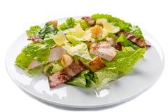 Traditioneller Caesar-Salat Lizenzfreie Stockfotos