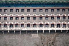 Traditioneller Chinese-Architektur Der Bogenschießen-Turm von Peking lizenzfreie stockfotos