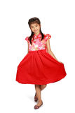 Traditioneller Chinese cheongsam Kleid Stockfoto