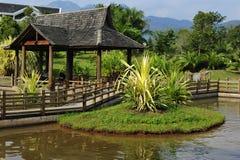 Traditioneller Chinese-Garten-Pavillon Lizenzfreie Stockbilder