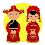 Traditioneller Chinese-Hochzeit Stockfotos