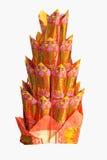 Traditioneller Chinese Joss Paper verwendet für das Angebot lizenzfreie stockfotos