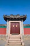 Traditioneller Chinese-Türen Stockfotografie