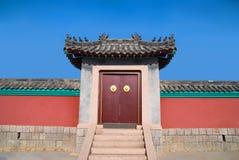 Traditioneller Chinese-Türen Lizenzfreie Stockfotografie
