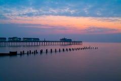 Traditioneller englischer Pier Stockfotografie
