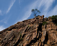 Traditioneller Felsenberg Provence Stockfotos