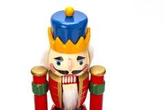 Traditioneller Figürchen-Weihnachtsnussknacker lizenzfreie stockfotos