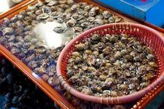 Traditioneller Fischmarkt Stockbilder