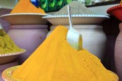 Traditioneller Gewürzmarkt in Marokko Afrika Lizenzfreies Stockbild