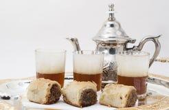 Traditioneller grüner Tee Stockfotografie