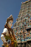 Traditioneller hinduistischer Tempel, Südindien, Kerala Lizenzfreie Stockbilder
