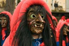 Traditioneller Hummel Karneval im Bayern Lizenzfreies Stockfoto