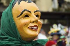 Traditioneller Hummel Karneval im Bayern Stockbild
