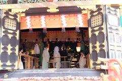 Traditioneller Japaner Hochzeit-Nikko, Japan lizenzfreie stockfotografie
