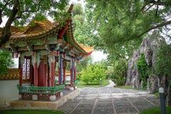 Traditioneller japanischer Garten Stockbilder