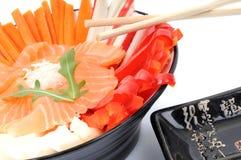 Traditioneller japanischer Salat Lizenzfreies Stockfoto