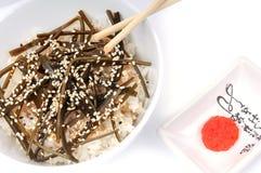 Traditioneller japanischer Salat Lizenzfreies Stockbild