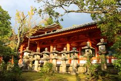 Traditioneller japanischer Tempel Lizenzfreie Stockfotos