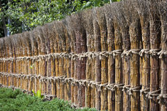 Traditioneller japanischer Zaun. Lizenzfreie Stockfotografie