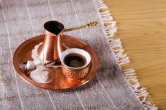 Traditioneller Kaffee stockbilder