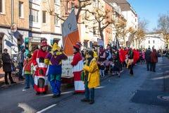 Traditioneller Karneval in Bonn Lizenzfreies Stockbild