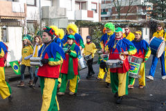 Traditioneller Karneval in Bonn Stockbilder