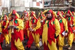 Traditioneller Karneval in Bonn Lizenzfreie Stockfotos