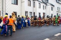 Traditioneller Karneval in Bonn Stockfotografie