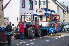 Traditioneller Karneval in Bonn Stockbild