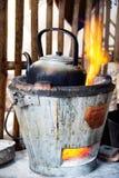 Traditioneller Kessel Stockbild