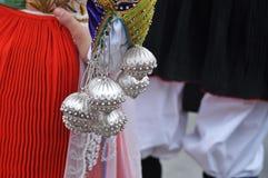 Traditioneller Kostümärmel lizenzfreie stockfotografie