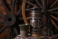 Traditioneller Krug Wein Lizenzfreie Stockfotografie