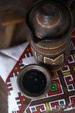 Traditioneller Krug Wein Lizenzfreie Stockbilder