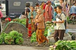 Traditioneller Markt stockbild