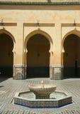 Traditioneller marokkanischer Palast Lizenzfreies Stockbild