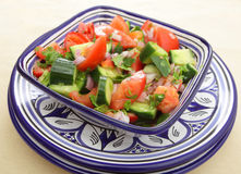 Traditioneller marokkanischer Salat Stockfotografie
