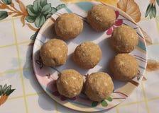 Traditioneller Nachtisch des Inder-pinni/ Lizenzfreie Stockfotografie