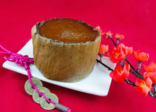 Traditioneller Neujahrsfest-Kuchen lizenzfreies stockfoto